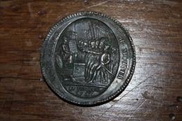 Médaille De Confiance De Cinq Sols 1792 - Unclassified