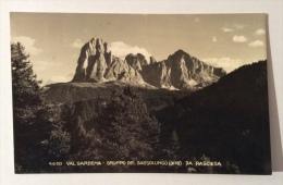 Val Gardena Gruppo Del Sassolungo Da Rasciesa Viaggiata F.p. Ottimo Stato - Bolzano (Bozen)