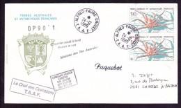 Lettre Terres Australes Et Antarctiques Françaises - Terres Australes Et Antarctiques Françaises (TAAF)