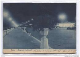 RIMINI - 1937 - LUNGOMARE NOTTURNO - FORMATO GRANDE - Rimini