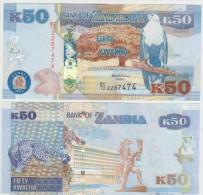 Zambia 50 Kwacha 2012 Pick NEW UNC - Zambia