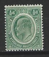 Nyasaland SG 73, Mi 1 * - Nyasaland (1907-1953)
