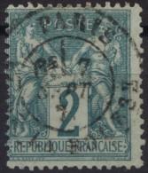 Frankreich Sage (Paix Et Comerce) Maury N° 62 Type I 1876,62 Type I 1876,2 Centime N Sous B,en Tres Bon Etat, - 1876-1878 Sage (Type I)