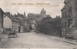 CPA Diez - Le Château - Côté Des Casernes - Diez
