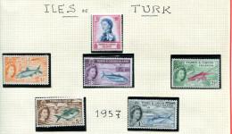 Turks Et Caiques ** Série  N° 163 à 176A - Elizabeth II. - Turks & Caicos