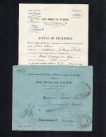 TB 742 - Lettre En Franchise Des Impots  De CHATELLERAULT Via Paris Imprimés - Marcophilie (Lettres)