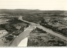 Jons Vue Aerienne Du Barrage De Jons Le Rhone Et Le Canal - Altri Comuni