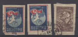 Lot Korea Michel No. 52 B , 53 B gestempelt used