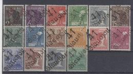 SBZ Handstempel Michel No. 166 - 181 ** postfrisch Bezirk 41 Glauchau / teilw. Altpr�fung au�er No. 166, 171, 173, 180