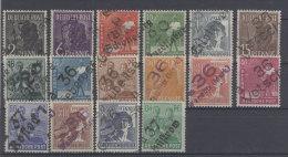 SBZ Handstempel Michel No. 166 - 181 ** postfrisch Bezirk 36 / Altpr�fung
