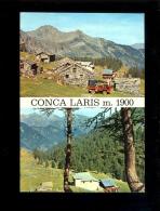 CHAMPORCHER Val D'Aosta Vallée D'Aoste : Conca Del Laris  Arrivo Della Cabinovia  1972 - Italia