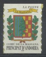 Andorra (French Adm.), La Massana, Coat Of Arms, 1999, MNH VF - French Andorra