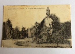 Piacenza Monumento a G. Garibaldi e Giardini Margherita 1919 viaggiata buono stato ( piccoli segni dovuti al tempo tras.