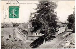 Rocroi - Rue De Montmorency Et Bastion De L'Hôpital - France