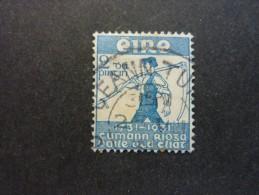 IRLANDE, Année 1931, YT N° 59 Oblitéré, Légère Trace Charnière - 1922-37 Stato Libero D'Irlanda