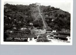 Brasil Santos Monte Serrat Postal Tipo Foto RPPC  Ca1940  Vintage Original Postcard Cpa Ak (W4_1001) - São Paulo