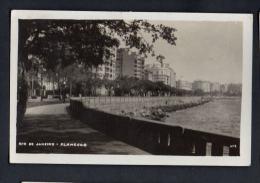 Brasil Rio Janeiro FLAMENGO Modern Architecture Postal Tipo Foto Ca1940  Vintage Original Postcard Cpa Ak (W4_1004) - Rio De Janeiro
