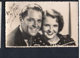 Argentina Advertising Cinema Film Marion Talley Michael Bartlett  Vintage Original Postcard Cpa Ak (W4_1005) - Actores