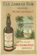 CHROMO RHUM OLD JAMAICA KINGSTON SURREY MARIE BRIZARD BORDEAUX - Altri