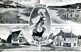 N°6413A -cpsm Souvenir De Vierville -multivues- - Autres Communes