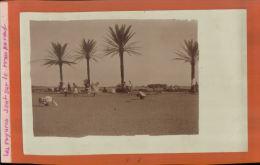 MAROC  MILITARIA LA POSE   DANS LE DESERT  Photo  Argentique  ( 1910  1914)     Mai 2015  SAL 571 - Afrique