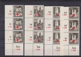 Generalgouvernement (GG) Rotes Kreuz  Eckrand ** - Ocupación 1938 – 45