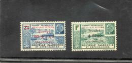 """WALLIS Et FUTUNA  """"Oeuvres Coloniales"""" - Baie Du Nouméa Et Effigie De Pètain De 1941surchargé Et Nouvelles Valeurs - - Wallis-Et-Futuna"""