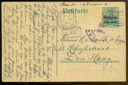 Duisland Postkaart 1915 Bezetting België - Besetzungen 1914-18