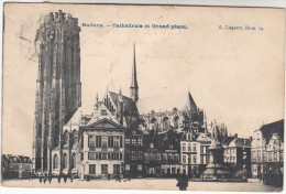 Mechelen, Malines, Cathédrale Et Grand Place (pk17411) - Malines