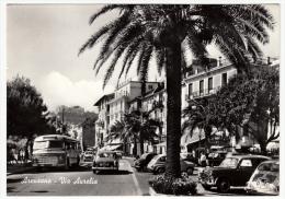 ARENZANO - VIA AURELIA - GENOVA - 1962 - AUTOMOBILI - CARS - Genova (Genoa)