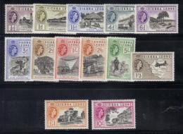 CI702b - SIERRA LEONE 1955 ,Ordinaria  N. 181/193  ***  MNH - Sierra Leone (...-1960)
