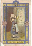 Format Carte Postale : BISCUITERIE NANTAISE : Costume D´ Enfant De QUIMPER (att Abimé)244 - Werbepostkarten