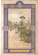 Format Carte Postale : BISCUITERIE NANTAISE : Mendiants Bretons Sur La Route D´auray  (att En Bas A D) 245 - Werbepostkarten