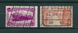 Lot Met 2 Gestempelde Zegels LEUPEGEM - 1923-1941