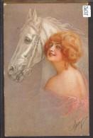 FEMME - CHEVAL - TB - Pferde