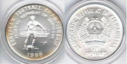 AFGANISTAN 500 AFGANIS 1988 EUROCOPA FUTBOL - Afganistán