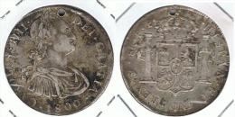 BOLIVIA CARLOS IIII 8 REALES POTOSI 1800 PLATA SILVER - Bolivia