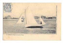 (3877-80) Bateau De Chasse En Vue Du Crotoy - France