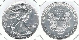 EE.UU USA ONZA LIBERTY 1988 PLATA SILVER - Bolivia
