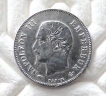 CENTIMES  1859  A ARGENT SILVER   QUALITE - E. 20 Centesimi