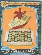 PETIT CALENDRIER 1960-MAISON De La DATTE-ALGER-10.5 X8 Cm-TBE-RARE - Tamaño Pequeño : 1941-60