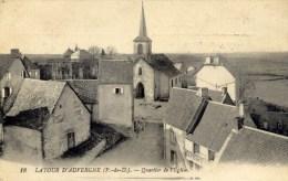 63 LA TOUR D'AUVERGNE Quartier De L'Eglise - Autres Communes