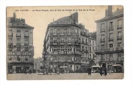(3890-44) Nantes - La Place Royale Vers La Rue De Gorges Et La Rue De La Fosse - Nantes