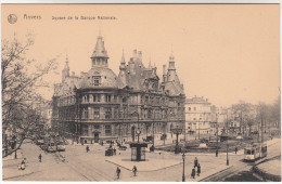Antwerpen, Anvers, Square De La Banque Nationale (pk17489) - Antwerpen