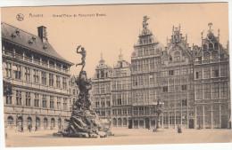 Antwerpen, Anvers, Grand'Place Et Monument Brabo (pk17499) - Antwerpen