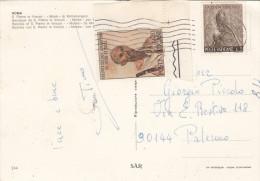 CITTA' DEL VATICANO  /  PALERMO - 1967  - Card _  Cartolina  - Lire 20 + 5 - Covers & Documents