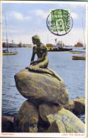 """_5Pk958: N°336A/ Kobenhavn """" Den Lilli Havirue"""" : KOBENHAVEN...39 > Antwerpen Belgien  TRYKSAGER - Danemark"""