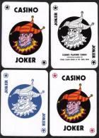 #157B Lucky Star Clown Playing Card Joker Jeu De Cartes - Speelkaarten