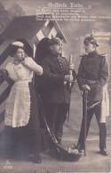AK Gestörte Liebe - Patriotika - Soldaten-Brief - 1912 (14410) - Humor