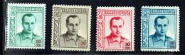 Jose Antonio Primo De Rivera  10, 20, 30 Y 50 Cts *  Sin Numeracion En El Reverso - Viñetas De La Guerra Civil